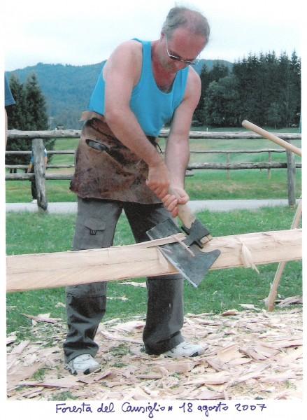 Primo taglio di un'albero - Saverio Pastor