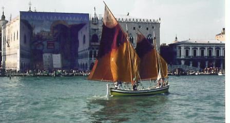 Rotte del Sale – a vela in Canal Grande